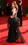 LOS ANGELES, CA. - September 21: Actress Debra Messing arrives at the 60th Primetime Emmy Awards at the Nokia Theater on September 21, 2008 in Los Angeles, California.