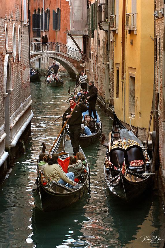 Gondola's of Venice, March 2006.