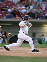 Brian Dinkelman of the Beloit Snappers during the Midwest League All-Star game.  Photo by:  Mike Janes/Four Seam Images