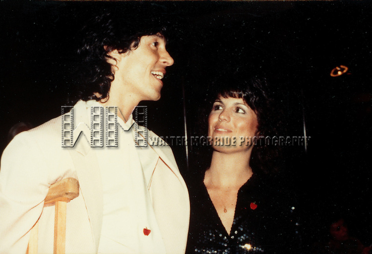 Lucie Arnaz.( star of THEY'RE PLAYING OUR SONG ) with Director Tommy Tune.Attending the Opening night performance of A DAY IN HOLLYWOOD A NIGHT IN THE UKRAINE at the Golden Theatre in New York City..June 1980.© Walter McBride /