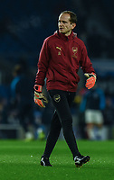 Arsenal's Goalkeeping Coach Javi Garcia<br /> <br /> Photographer David Horton/CameraSport<br /> <br /> The Premier League - Brighton and Hove Albion v Arsenal - Wednesday 26th December 2018 - The Amex Stadium - Brighton<br /> <br /> World Copyright © 2018 CameraSport. All rights reserved. 43 Linden Ave. Countesthorpe. Leicester. England. LE8 5PG - Tel: +44 (0) 116 277 4147 - admin@camerasport.com - www.camerasport.com