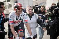 Alexander Kristoff (NOR/UAE) wins the 81st Gent-Wevelgem 'in Flanders Fields' 2019<br /> <br /> One day race (1.UWT) from Deinze to Wevelgem (BEL/251km)<br /> <br /> ©kramon