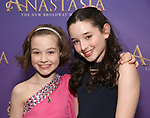 Nicole Simeca and McKayla Twiggs attends Broadway Opening Night After Party for 'Anastasia' at the Mariott Marquis Hotel on April 24, 2017 in New York City.