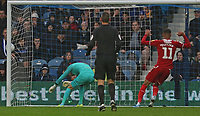 Joe Lumley of Queens Park Rangers  reaction to seeing the ball go in during Queens Park Rangers vs Middlesbrough, Sky Bet EFL Championship Football at Loftus Road Stadium on 9th November 2019