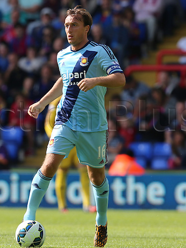 23.08.2014.  London, England. Premier League. Crystal Palace versus West Ham. Mark Noble