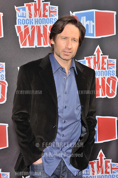 David Duchovny at the VH1 Rock Honors tribute to The Who at UCLA's Pauley Pavilion..July 12, 2008  Los Angeles, CA.Picture: Paul Smith / Featureflash