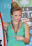 Hilary Duff at Fox Teen Choice 2010 Awards held at he Universal Ampitheatre in Universal City, California on August 08,2010                                                                                      Copyright 2010 © DVS / RockinExposures
