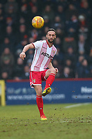 Fraser Franks of Stevenage during Stevenage vs Luton Town, Sky Bet EFL League 2 Football at the Lamex Stadium on 10th February 2018