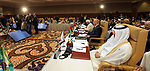 Palestinian Prime Minister Rami Hamdallah participates in 35th Session of the Council of Arab Ministers of the Interior, in Algiers, Algeria on March 7, 2018. Photo by Prime Minister Office