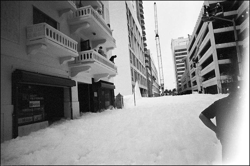 White Foam Invasion<br /> From &quot;The other Wind&quot; series. Miami, Florida, 2008