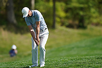 Ross Fisher (ENG) on the 4th fairway during the 1st round at the PGA Championship 2019, Beth Page Black, New York, USA. 17/05/2019.<br /> Picture Fran Caffrey / Golffile.ie<br /> <br /> All photo usage must carry mandatory copyright credit (&copy; Golffile | Fran Caffrey)