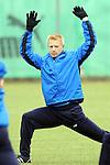 Hoffenheim 24.02.2009, 1.Fu&szlig;ball Bundesliga Training TSG 1899 Hoffenheim, Hoffenheims Andreas Ibertsberger bei einer Dehn&uuml;bung<br /> <br /> Foto &copy; Rhein-Neckar-Picture *** Foto ist honorarpflichtig! *** Auf Anfrage in h&ouml;herer Qualit&auml;t/Aufl&ouml;sung. Belegexemplar erbeten.