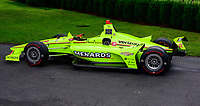 Car driven by Simon Pagenaud prior to United States President Donald J. Trump greeting the 103rd Indianapolis 500 Champions: Team Penske, on the South Lawn of the White House in Washington, DC on Monday, June 10, 2019.  The President took some questions on trade, Mexico, and tariffs against China. Photo Credit: Ron Sachs / CNP/AdMedia