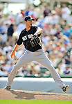 8 March 2011: New York Yankees' pitcher Andrew Brackman on the mound during a Spring Training game against the Atlanta Braves at Champion Park in Orlando, Florida. The Yankees edged out the Braves 5-4 in Grapefruit League action. Mandatory Credit: Ed Wolfstein Photo