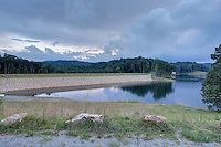 The Rivanna County Reservoir and dam used for drinking water in Charlottesville and Albemarle County, VA. Photo/Andrew Shurtleff