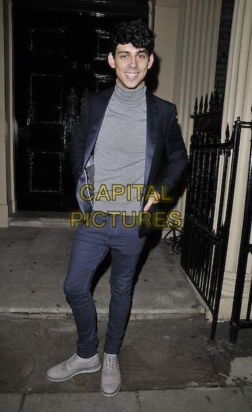 LONDON, ENGLAND - OCTOBER 27: Matt Richardson attends the Boux Avenue: Love Christmas launch party, Home House, Portman Square, on Monday October 27, 2014 in London, England, UK. <br /> CAP/CAN<br /> &copy;Can Nguyen/Capital Pictures