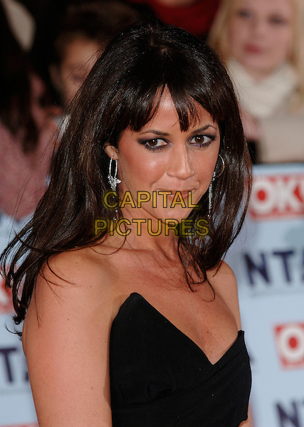 SHEREE MURPHY.The National Television Awards 2006 held at the Royal Albert Hall, London, UK. - Arrivals.October 31st, 2006.Ref: PL.headshot portrait strapless.www.capitalpictures.com.sales@capitalpictures.com.©Phil Loftus/Capital Pictures