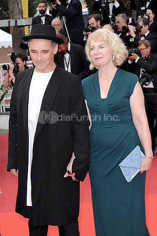 Claire van Kampen and Mark Rylance at the &acute;The BFG` (The Big Friendly Giant) screening during The 69th Annual Cannes Film Festival on May 14, 2016 in Cannes, France.<br /> CAP/LAF<br /> &copy;Lafitte/Capital Pictures / MediaPunch **North American &amp; South American Rights Only**