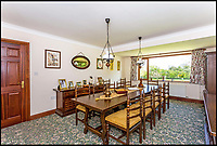 BNPS.co.uk (01202 558833)<br /> Pic: Humberts/BNPS<br /> <br /> Beggars Banquet...the dining room.<br /> <br /> Gimme Shelter - a quaint country bolt hole where the Rolling Stones stayed while playing gigs in the west country has emerged for sale. <br /> <br /> 'Pasaderas', which coincidentally means 'stepping stones' in Spanish, played host to the raucous band a number of times throughout the 1960s. <br /> <br /> The unsuspecting five bedroom home sits in secluded Gloucestershire countryside - thus providing the megastars with privacy away from pestering paparazzi and adoring fans. <br /> <br /> In those days the house belonged to a close friend of the late Stones co-founder and guitarist Brian Jones called Kerry Hamer, both of whom were from Cheltenham.