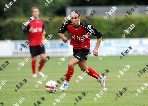 2012-07-31 / Voetbal / seizoen 2012-2013 / Mariekerke / Said El Harchi..Foto: Mpics.be