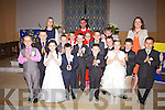 Pupils from Coars N.S & Foilmore N.S. who made their First Holy Communion in The Church of the Immaculate Conception Foilmore on Sunday last pictured here front l-r; Dillan O'Shea, Shannon O'Donnell, Daniel Casey, Kieran O'Donnell, Emma Sheehan, Luke Harty, second row l-r; David O'Malley, David O'Neill, Daniel Devane, Joseph Coffey, Liam O'Connor, Eoin O'Grady, back l-r; Orla Reidy(Teacher), Keelan McCarthy, Fr Niall Howard, Saoirse Lyne, Ronan Clifford & Siobhan Fitzpatrick(Teacher).