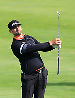 Lee Slattery (ENG) on the 10th fairway during Round 4 of the D+D Real Czech Masters at the Albatross Golf Resort, Prague, Czech Rep. 03/09/2017<br /> Picture: Golffile   Thos Caffrey<br /> <br /> <br /> All photo usage must carry mandatory copyright credit     (&copy; Golffile   Thos Caffrey)