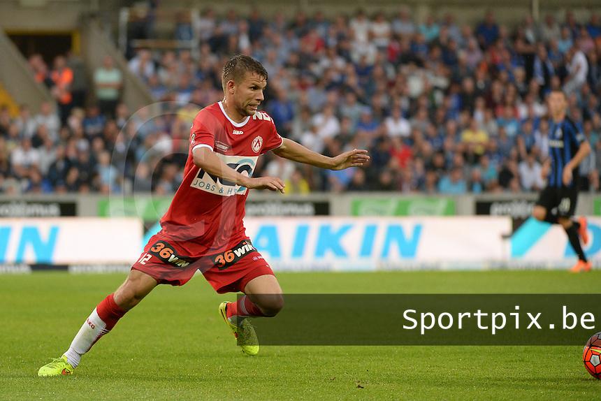 Club Brugge - KV Kortrijk : Lukas Van Eenoo <br /> Foto VDB / Bart Vandenbroucke