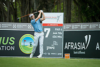 Raphael Jacquelin (FRA) during the 3rd round of the AfrAsia Bank Mauritius Open, Four Seasons Golf Club Mauritius at Anahita, Beau Champ, Mauritius. 01/12/2018<br /> Picture: Golffile | Mark Sampson<br /> <br /> <br /> All photo usage must carry mandatory copyright credit (&copy; Golffile | Mark Sampson)