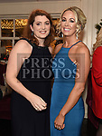Lavina McGahon and Katheryn Delany at the Heart Children Ireland Gala Ball in Darver Castle. Photo:Colin Bell/pressphotos.ie