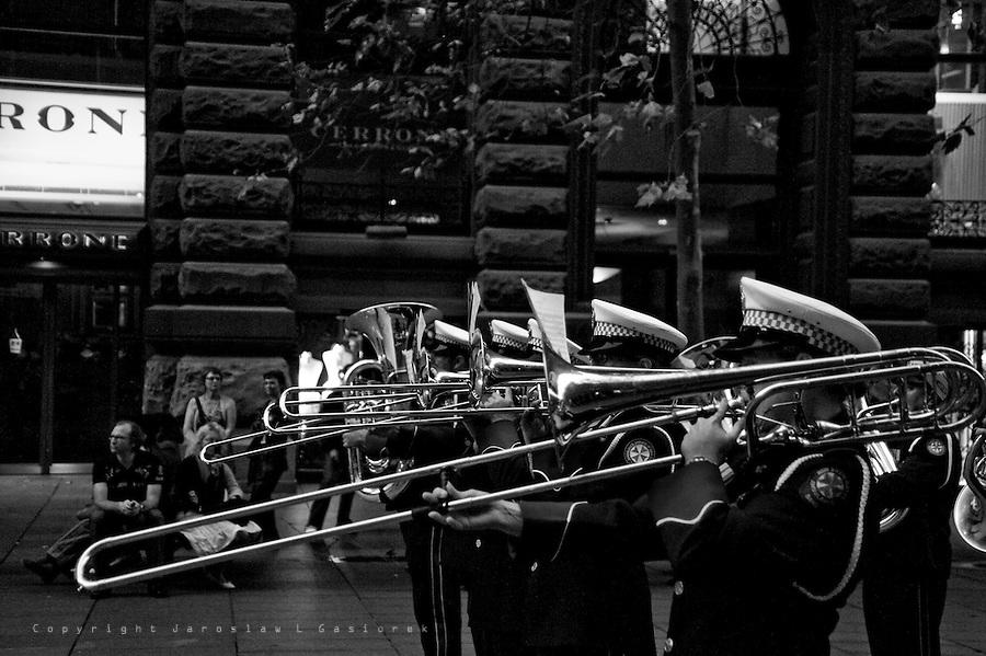 ANZAC DAY Sunset, Service The Cenotaph, Sydney 2010