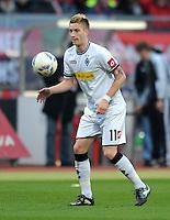 FUSSBALL   1. BUNDESLIGA  SAISON 2011/2012   24. Spieltag 1. FC Nuernberg - Borussia Moenchengladbach      04.03.2012 Marco Reus (Borussia Moenchengladbach)