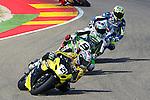 CEV Repsol en Motorland / Aragón <br /> a 07/06/2014 <br /> En la foto :<br /> Superbike-SBK<br /> 21 martines<br /> 9 kenny noyes<br />RM/PHOTOCALL3000