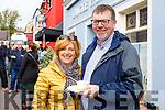 Caroline and John O'Carroll, Tralee at the Dingle food Festival on Saturday