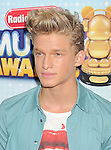 LOS ANGELES, CA- APRIL 27: Singer/songwriter Cody Simpson arrives at the 2013 Radio Disney Music Awards at Nokia Theatre L.A. Live on April 27, 2013 in Los Angeles, California.