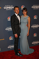 New York, New York - April 26 : Lake Bell and Scott Campbell attend the American Comedy<br /> Awards held at the Hammerstein Ballroom in New York, New York<br /> on April 26, 2014.<br /> Photo by Brent N. Clarke / Starlitepics /NortePhoto