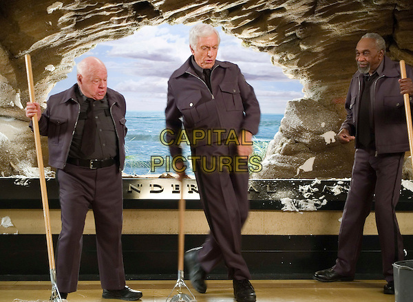 MICKEY ROONEY, DICK VAN DYKE & BILL COBBS.in Night at the Museum .**Editorial Use Only**.CAP/FB.Supplied by Capital Pictures