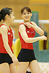Rie Tanaka (JPN), .June 21, 2012 - Artistic Gymnastics : .Women's Japan National Team Training Camp .at Ajinomoto National Training Center, Tokyo, Japan. .(Photo by Daiju Kitamura/AFLO SPORT) [1045]