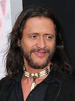 "WESTWOOD, LOS ANGELES, CA, USA - APRIL 10: Clifton Collins Jr. at the Los Angeles Premiere Of Warner Bros. Pictures And Alcon Entertainment's ""Transcendence"" held at Regency Village Theatre on April 10, 2014 in Westwood, Los Angeles, California, United States. (Photo by Xavier Collin/Celebrity Monitor)"