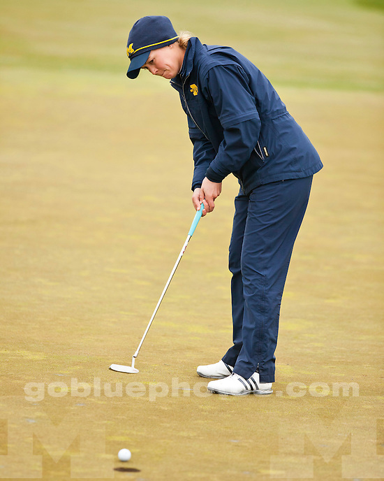 University of Michigan (women) golf team competes at the 2010 Big Ten Championships at University Ridge Golf Course in Madison, Wis., April 25, 2010.