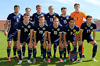Scotland U21 Team Photo. Top Row (L-R) Daniel Harvie, Craig Wighton, Jason Kerr, Iain Wilson, Glenn Middleton, Roos Doohan. Front Row (L-R) Elliot Watt, Chris Hamilton, Liam Burt, Greg Taylor and Harvey St Clair during Turkey Under-21 vs Scotland Under-21, Tournoi Maurice Revello Football at Stade Francis Turcan on 9th June 2018