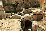 Israel, Herod's Family Tomb in west Jerusalem
