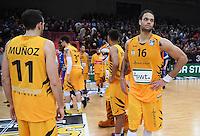 Basketball  1. Bundesliga  2016/2017  Hauptrunde  17. Spieltag  30.12.2016 Walter Tigers Tuebingen - FRAPORT SKYLINERS Frankfurt Enttaeuschung Tigers; Alvaro Munoz (li) und Gary McGhee