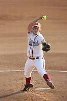 25 October 2007: Stanford Cardinal Missy Penna during Stanford's 5-4 loss in seven innings against the San Jose State Spartans at Boyd & Jill Smith Family Stadium in Stanford, CA.