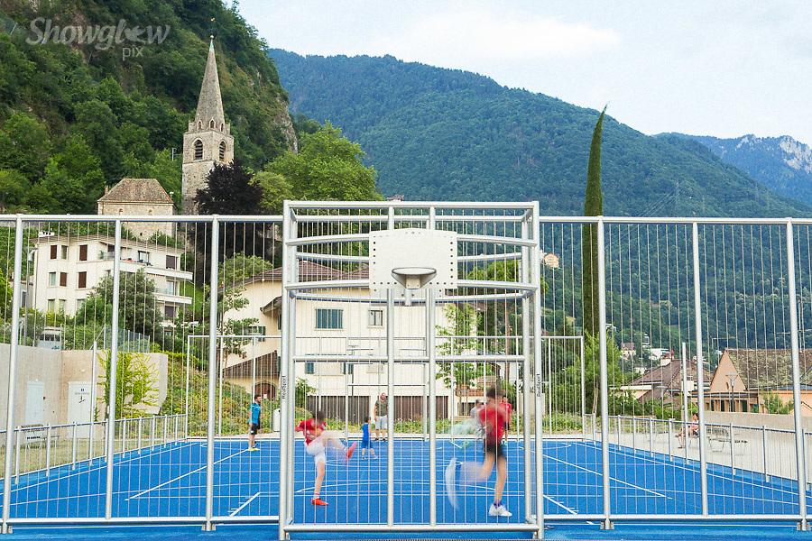 Image Ref: SWISS088<br /> Location: Montreaux, Switzerland<br /> Date of Shot: 25th June 2017