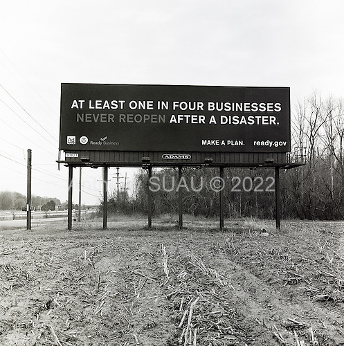 East Chicago, Indiana<br /> USA<br /> March 27, 2009<br /> <br /> Billboards of businesses facing disaster.