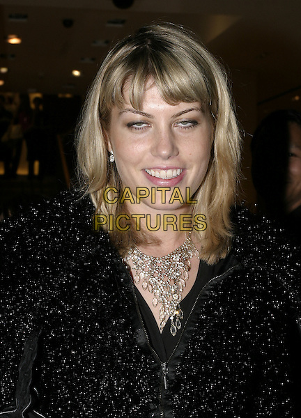 MEREDITH OSTROM.Burberry Collection Launch Party, New Bond Street Store, London, October 5th 2004..portrait headhsot.Ref: AH.www.capitalpictures.com.sales@capitalpictures.com.©Capital Pictures.