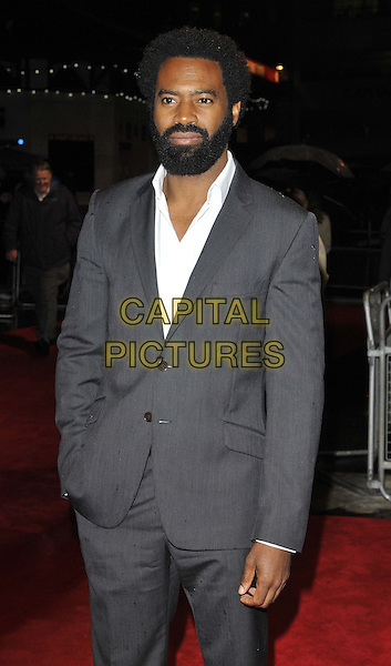 LONDON, ENGLAND - OCTOBER 12: Nicholas Pinnock attends the &quot;The Keeping Room&quot; Official Competition screening, 58th LFF day 5, Odeon West End cinema, Leicester Square, on Sunday October 12, 2014 in London, England, UK. <br /> CAP/CAN<br /> &copy;Can Nguyen/Capital Pictures