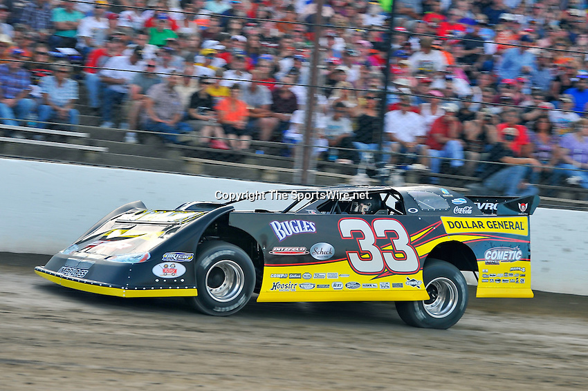 Jun 9, 2010; 7:40:50 PM; Rossburg, OH., USA; The sixth running of the Gillette Fusion ProGlide Prelude to the Dream XVI  Dirt Late Models at the Eldora Speedway.  Mandatory Credit: (thesportswire.net)