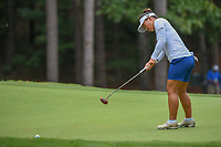 Megan Khang (USA) watches her putt on 13 during round 2 of the U.S. Women's Open Championship, Shoal Creek Country Club, at Birmingham, Alabama, USA. 6/1/2018.<br /> Picture: Golffile | Ken Murray<br /> <br /> All photo usage must carry mandatory copyright credit (&copy; Golffile | Ken Murray)