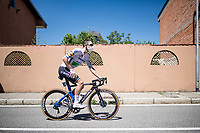 Sam Bennett (IRL/Deceuninck-QuickStep) at sign-on<br /> <br /> 101st Milano-Torino 2020 (UCI 1.Pro)<br /> 1 day race from Mesero to Stupinigi (198km)